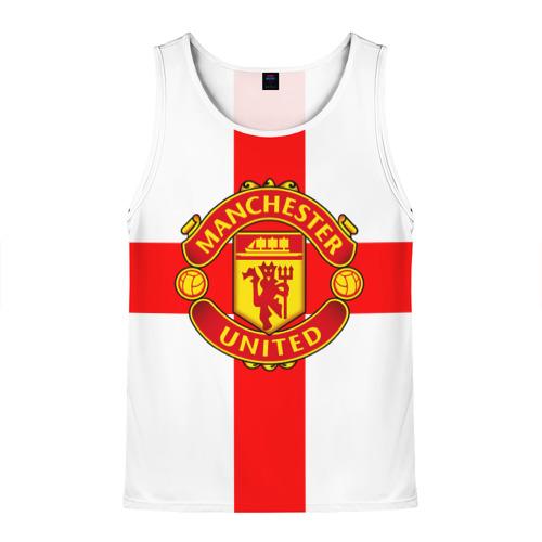 Мужская майка 3D Manchester united