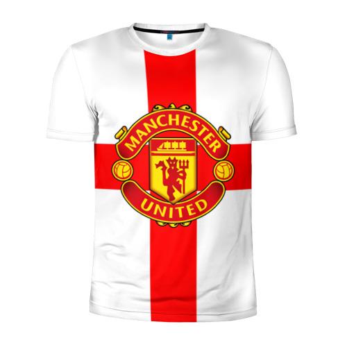 Мужская футболка 3D спортивная Manchester united