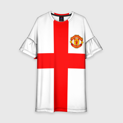 Детское платье 3D Manchester united