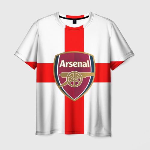 Мужская футболка 3D Арсенал