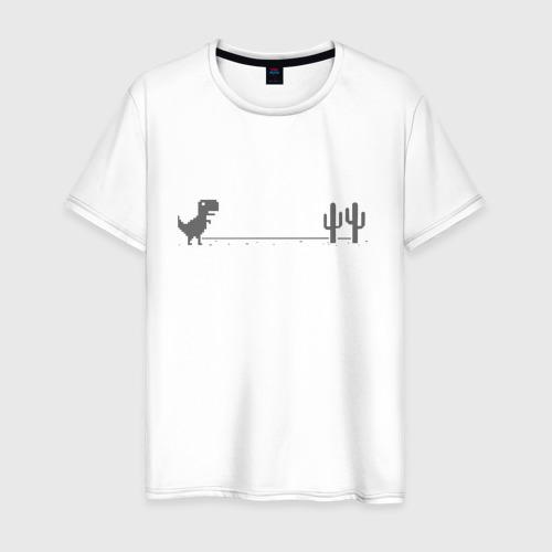 Мужская футболка хлопок Dinochrome, Динохром