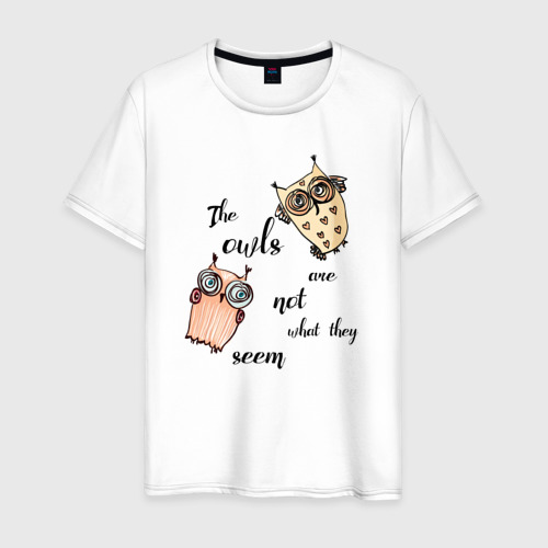 Мужская футболка хлопок Twin Peaks_Совы