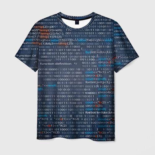 Мужская футболка 3D Информатика
