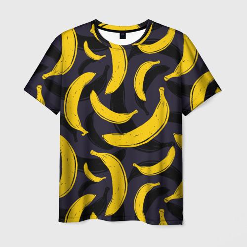 Мужская футболка 3D Бананы
