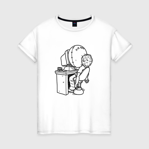 Женская футболка хлопок Codefest`17_5