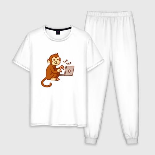 Мужская пижама хлопок Codefest`17_6