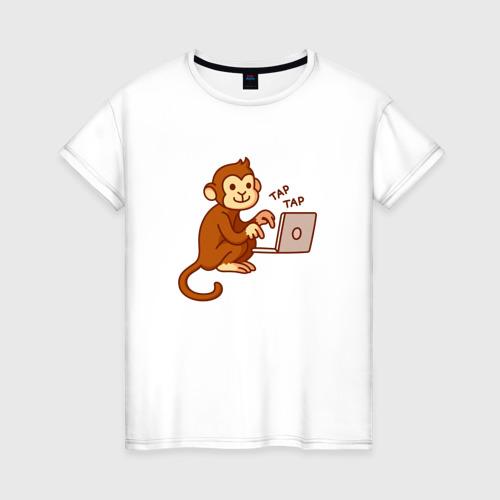 Женская футболка хлопок Codefest`17_6