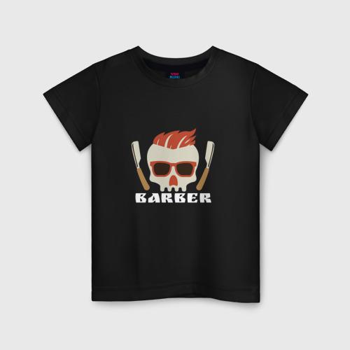 Детская футболка хлопок BARBER Барбер