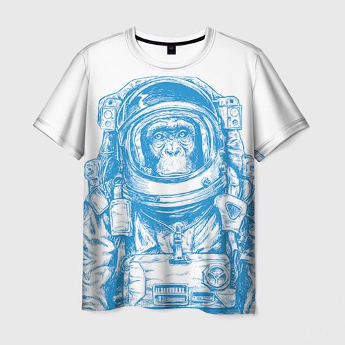 Мужская футболка 3D Космомакака