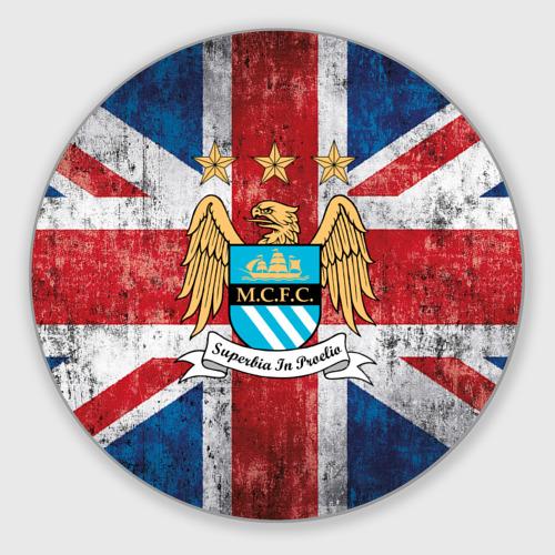 Коврик для мышки круглый Manchester city №1!