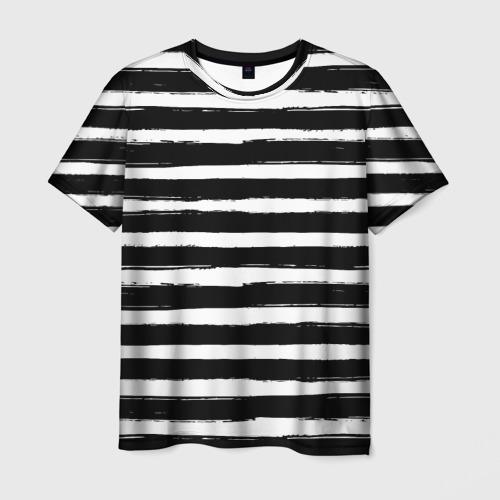 Мужская футболка 3D Тельняшка