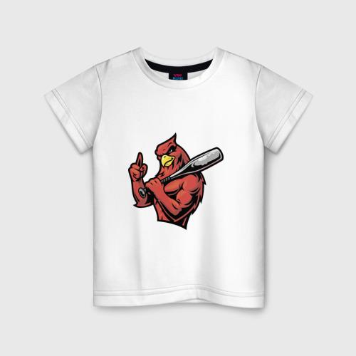 Детская футболка хлопок Орел