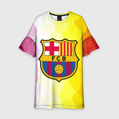 Детское платье 3D FCB