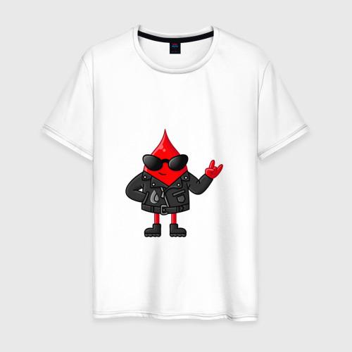 Мужская футболка хлопок Капля крутышка