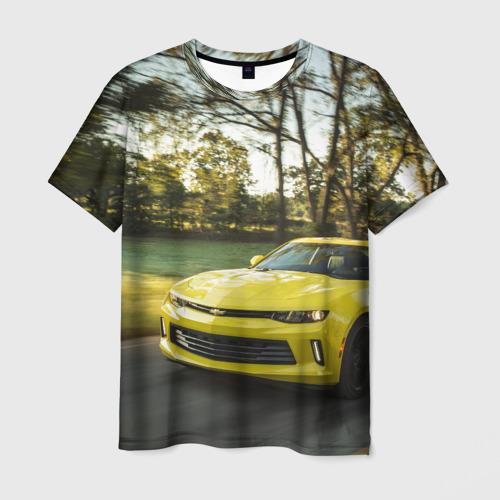 Мужская футболка 3D Chevrolet Camaro
