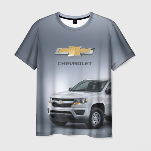 Мужская футболка 3D Chevrolet пикап