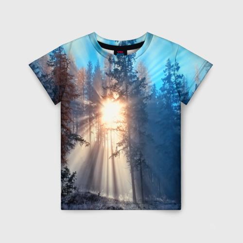 Детская футболка 3D Woodland