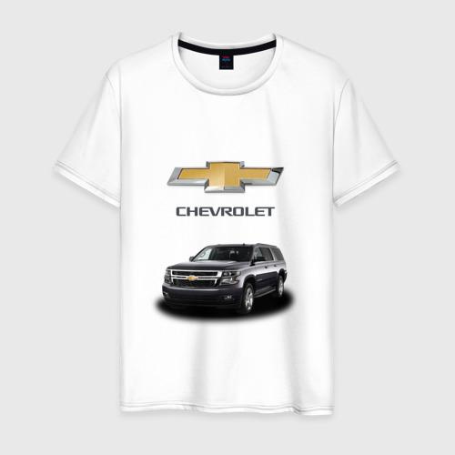 Мужская футболка хлопок Chevrolet кроссовер