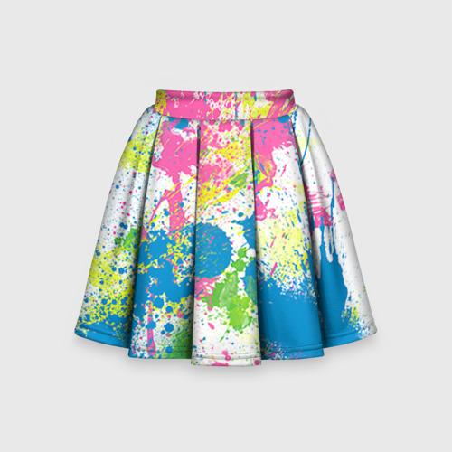 Детская юбка-солнце 3D Брызги
