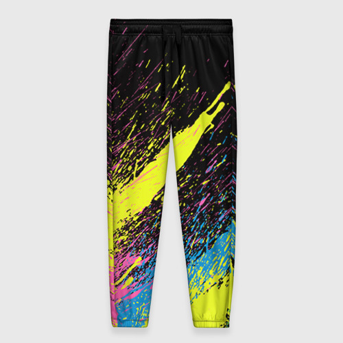 Женские брюки 3D Брызги