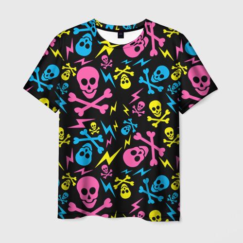 Мужская футболка 3D Не влезай - убьёт!