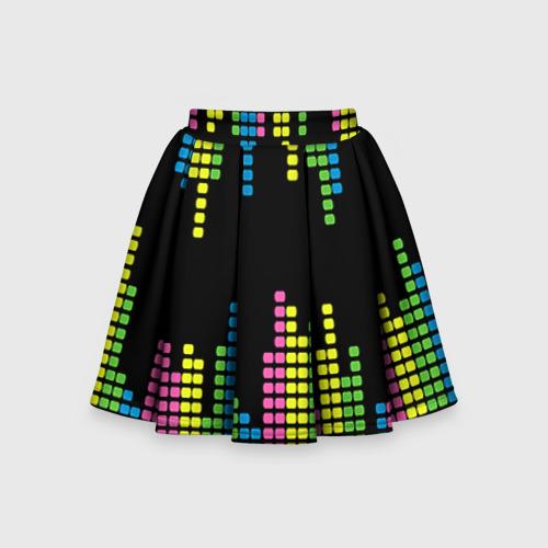 Детская юбка-солнце 3D Эквалайзер