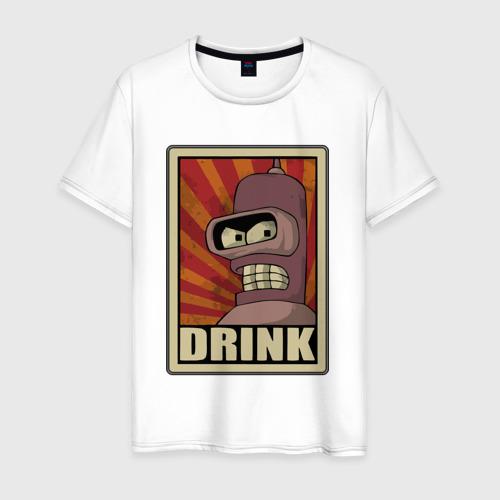 Мужская футболка хлопок Бендер