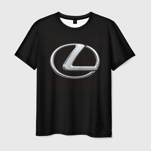 Мужская футболка 3D Lexus
