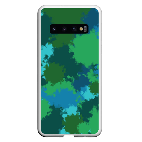 Чехол для Samsung Galaxy S10 Камуфляжные кляксы