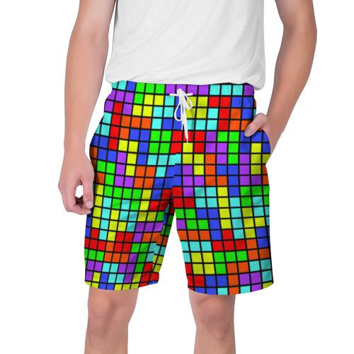 Мужские шорты 3D Тетрис