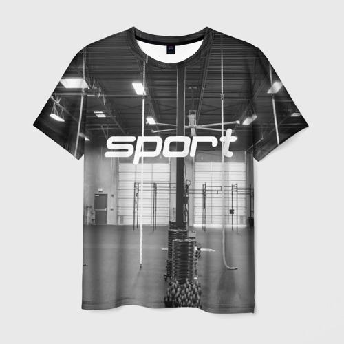 Мужская футболка 3D Спортзал