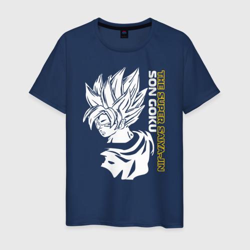 Мужская футболка хлопок Super Saiya-jin