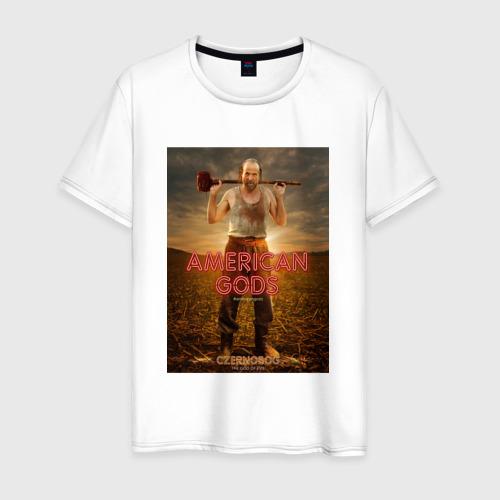 Мужская футболка хлопок Американские Боги 5