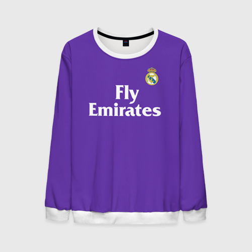 Мужской свитшот 3D Реал Мадрид