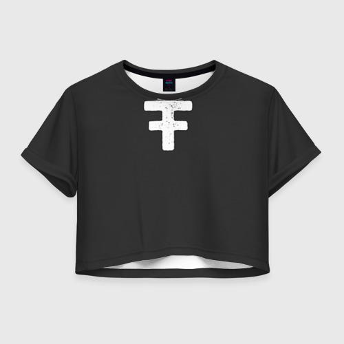Женская футболка Crop-top 3D ARCHIVE