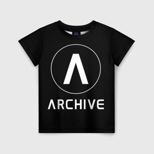 Детская футболка 3D ARCHIVE