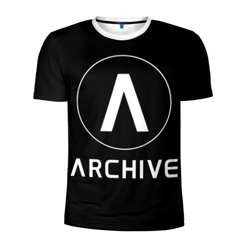 Мужская футболка 3D спортивная ARCHIVE