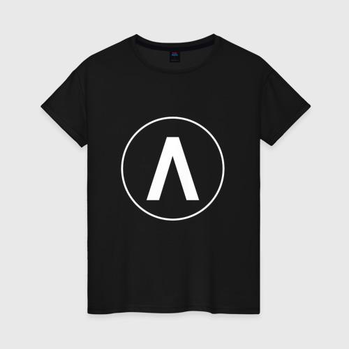 Женская футболка хлопок Archive
