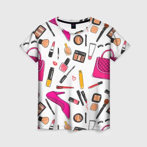 Женская футболка 3D Барби 9