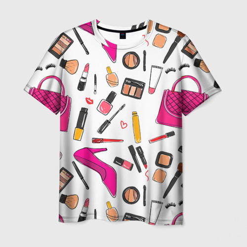 Мужская футболка 3D Барби 9