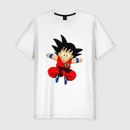 Мужская футболка хлопок Slim Жемчуг дракона