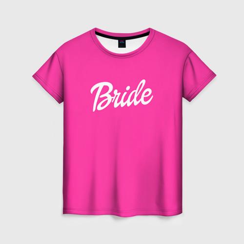Женская футболка 3D Барби Bride