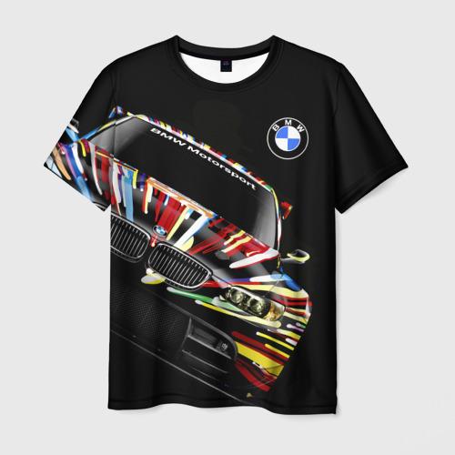 Мужская футболка 3D BMW