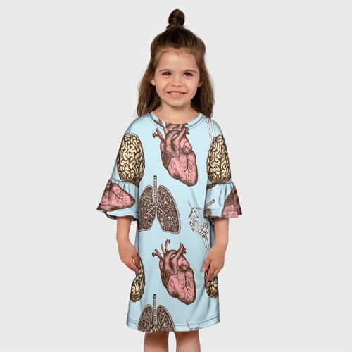 Детское платье 3D Органы