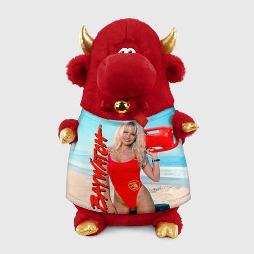 Игрушка Бычок в футболке 3D Baywatch Памела