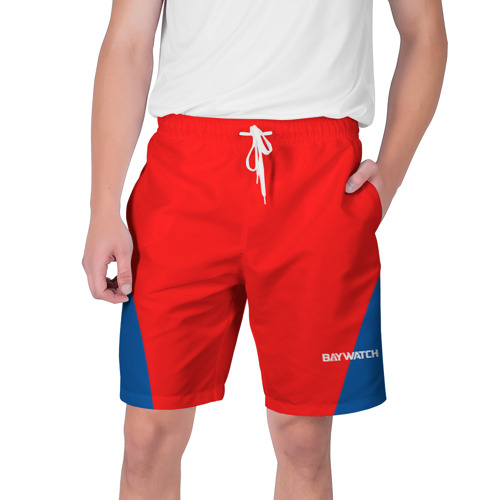 Мужские шорты 3D Спасатель Малибу