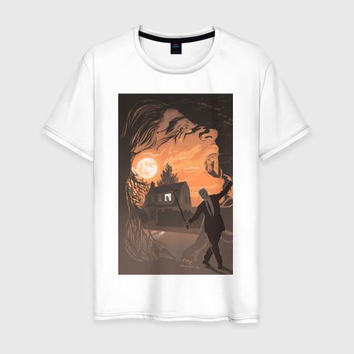 Мужская футболка хлопок Лиланд Палмер