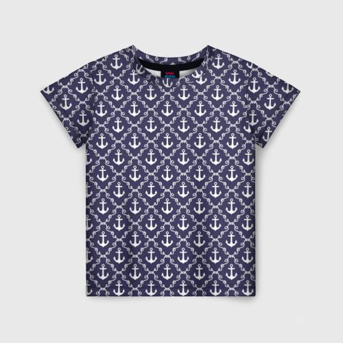 Детская футболка 3D Якори