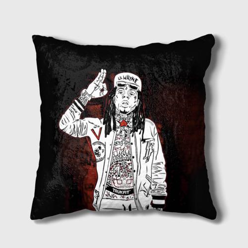 Подушка 3D Lil Wayne 3