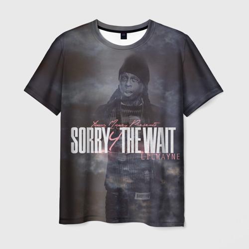 Мужская футболка 3D Lil Wayne 6
